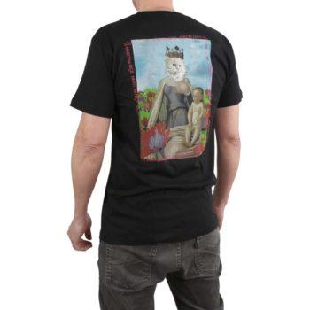 RIPNDIP Fouquet Madonna S/S T-Shirt - Black