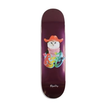"RIPNDIP Yeehaw 8.25"" Skateboard Deck - Purple"