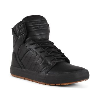 Supra Skytop CW Shoes – Black / Black / Gum