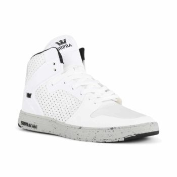Supra Vaider 2.0 LX Shoes - White / Light Grey / Light Grey