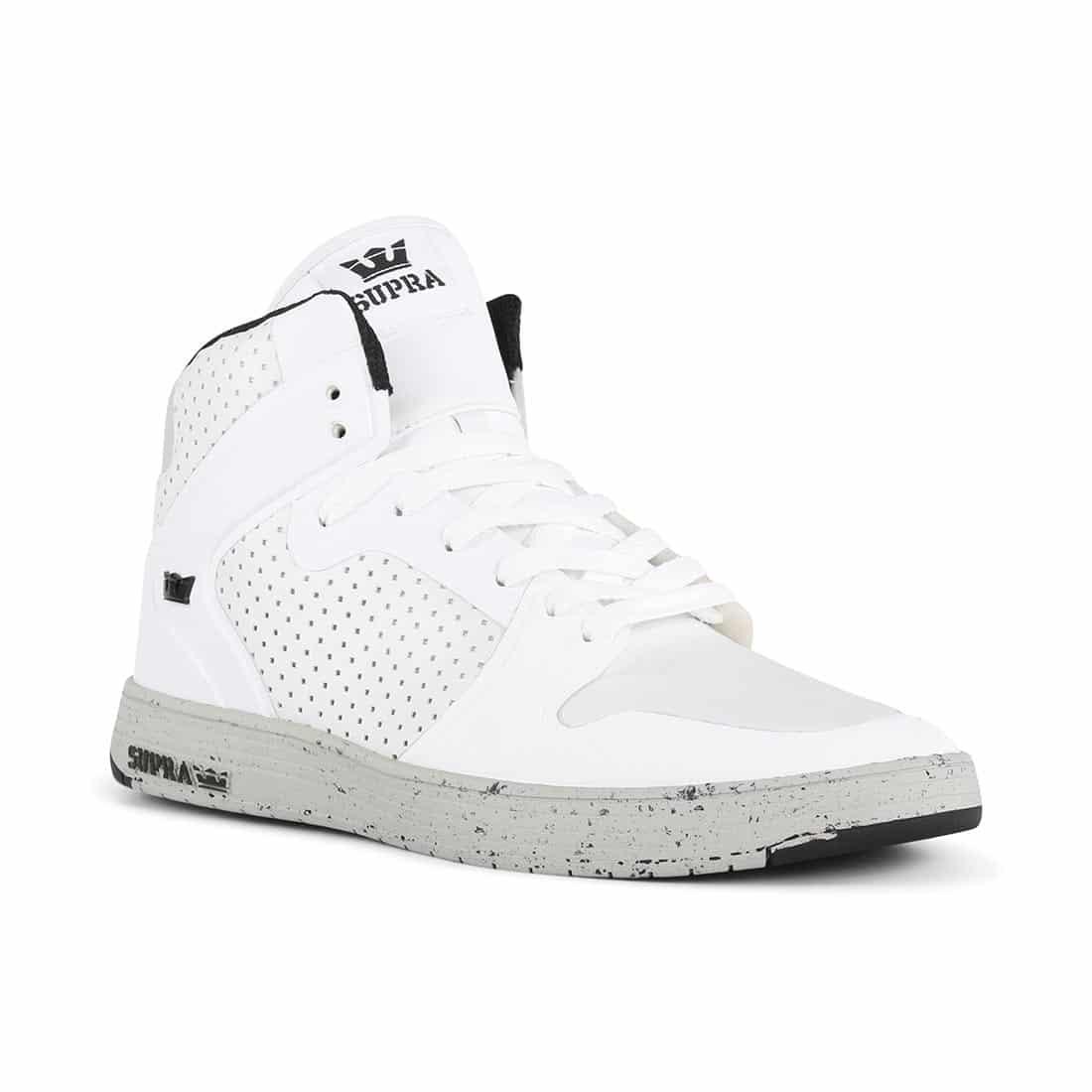 Supra Vaider 2.0 LX Shoes - White / Light Grey / Light Grey
