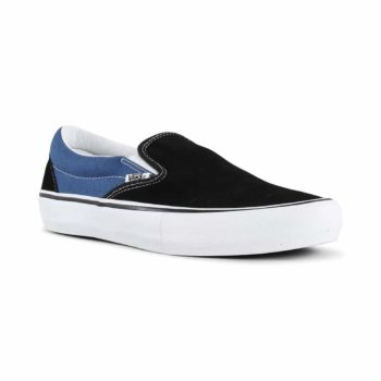 sale retailer f8fe1 62b0e Vans x Anti Hero Slip-On Pro Skate Shoes - Pfanner   Black