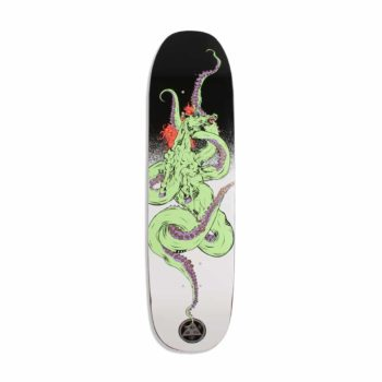 """Welcome Seahorse 2 On Son Of Moontrimmer 8.25"""" Skateboard Deck - White"""