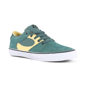 eS Square Three Shoes - Green / Gold