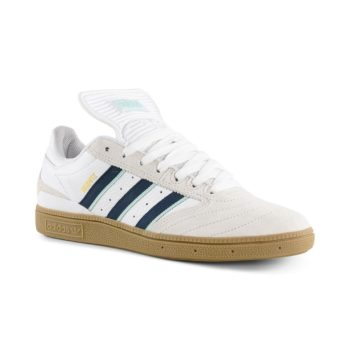 Adidas Busenitz Pro Shoes – Beige / Collegiate Burgundy / Clear Mint