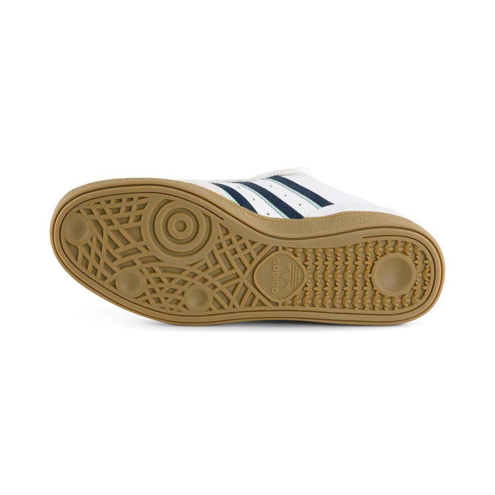 Adidas Busenitz Pro Shoes – Beige / Collegiate Burgundy / Clear Mint