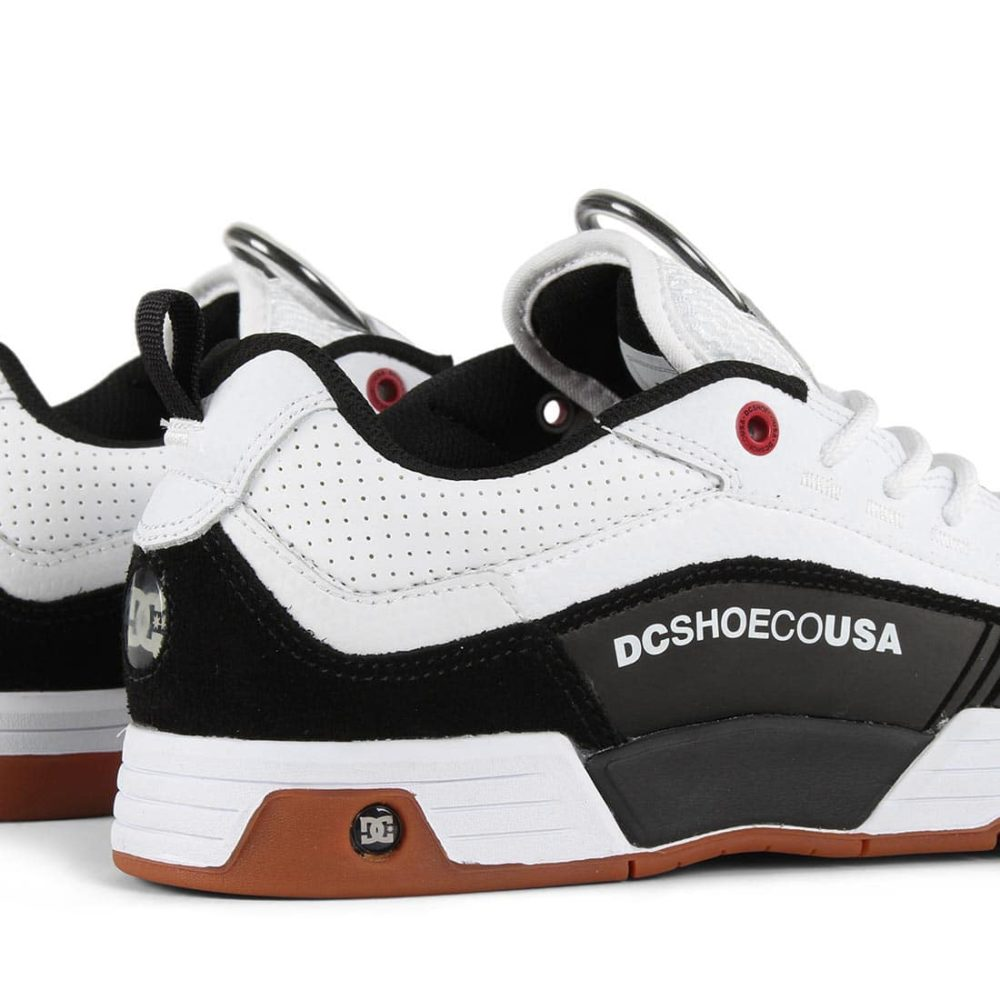 DC Shoes Legacy 98 Slim S - White / Athletic Red / Black