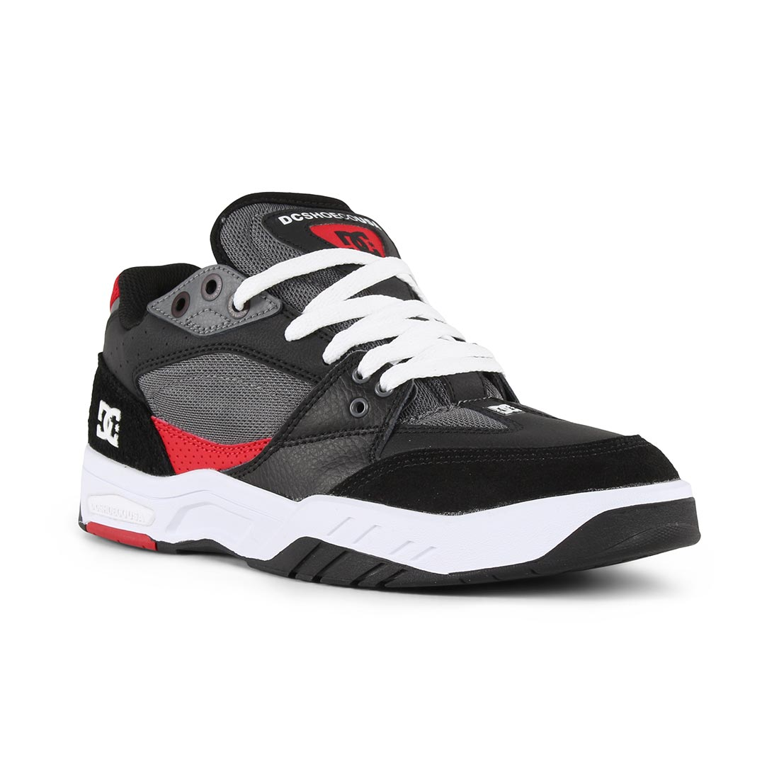 DC Shoes Maswell - White / Black / Red