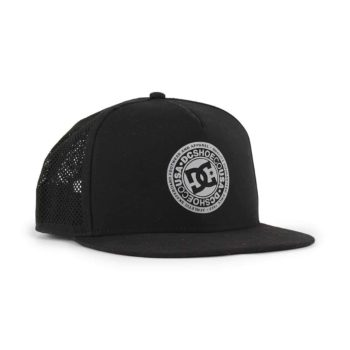 ef24c5cd28bb1 DC Shoes Perftailer Trucker Cap - Black