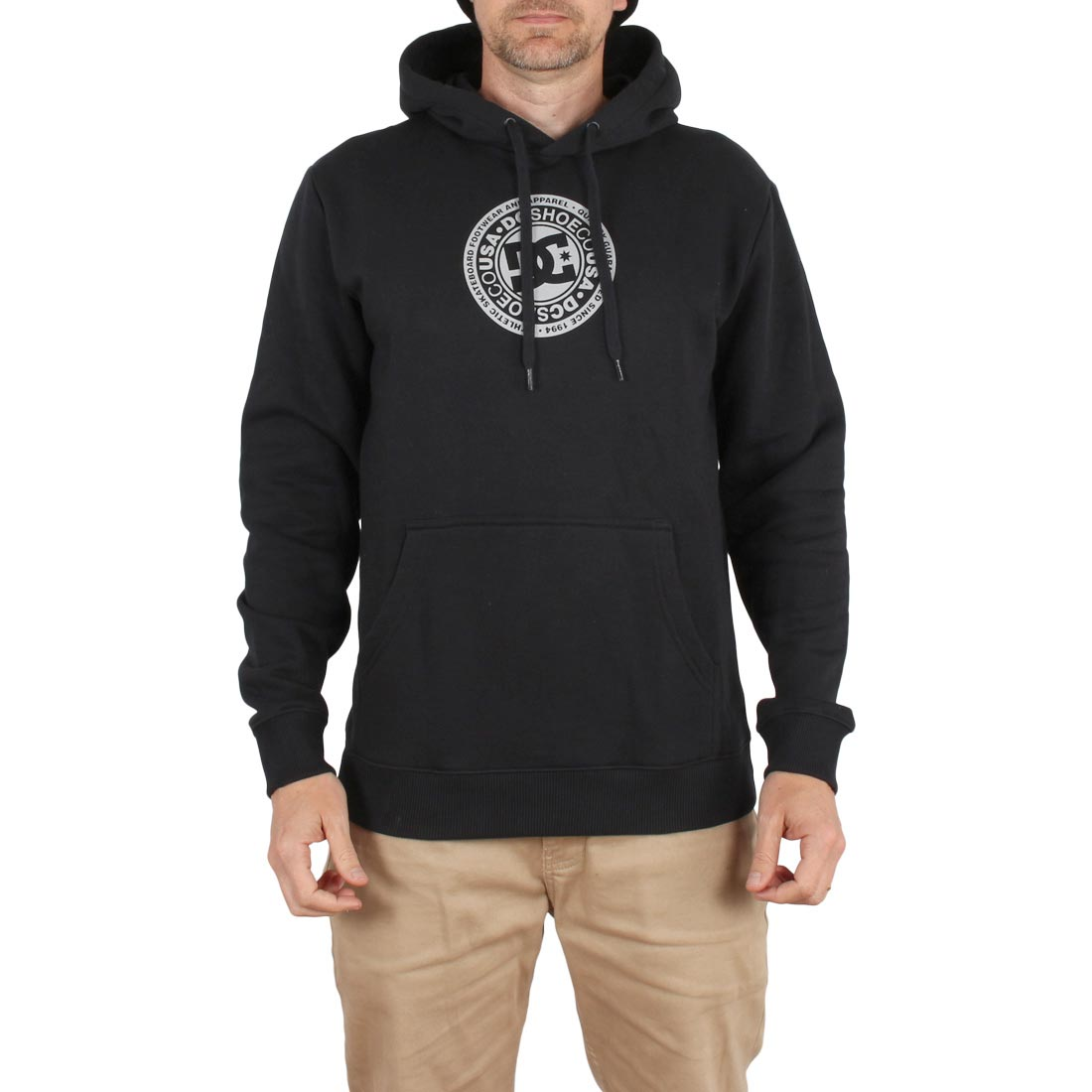 DC Shoes Splitted Pullover Hoodie - Black