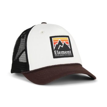 Element Peak Trucker Cap - Chocolate