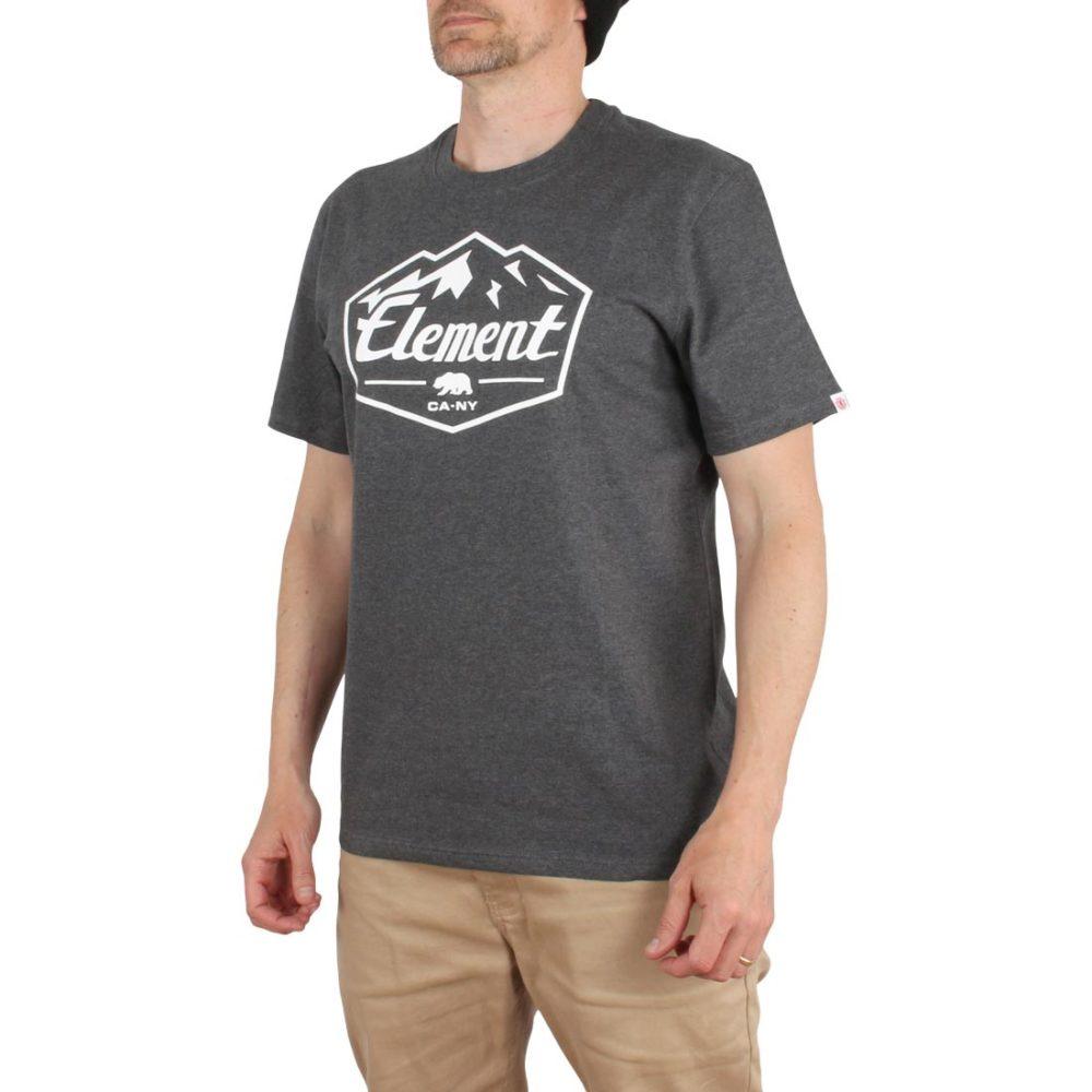 Element Slab S/S T-Shirt - Charcoal Heather