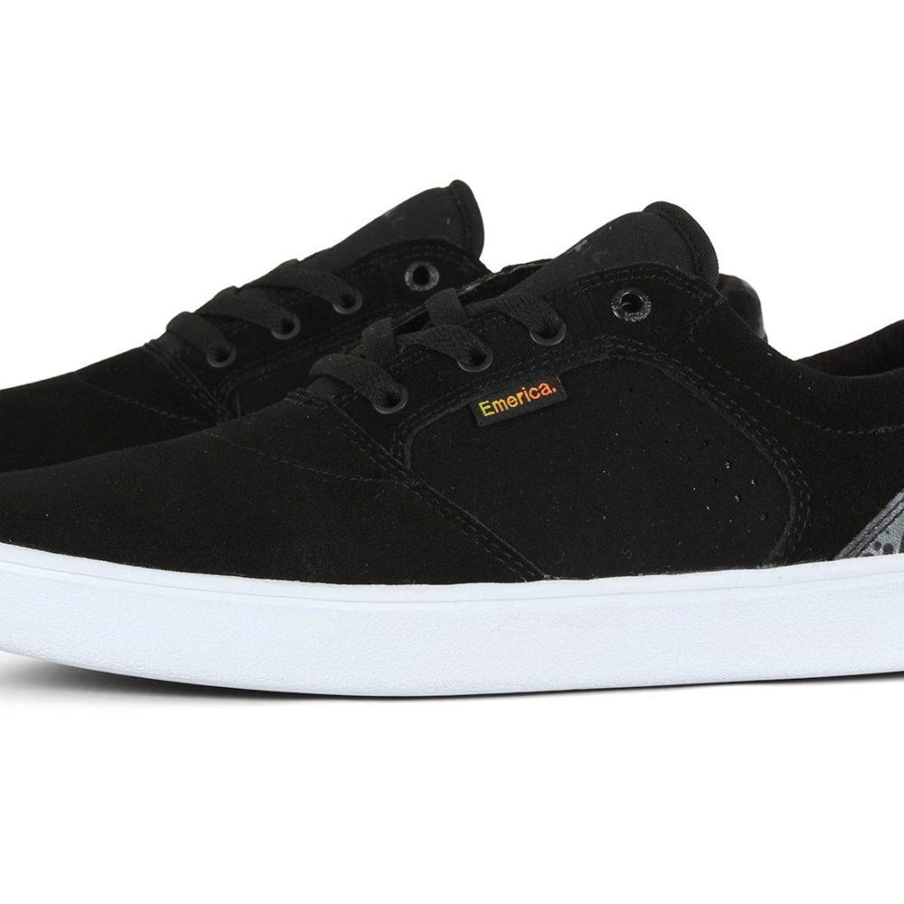 Emerica Figgy Dose x Psockadelic Shoes - Black