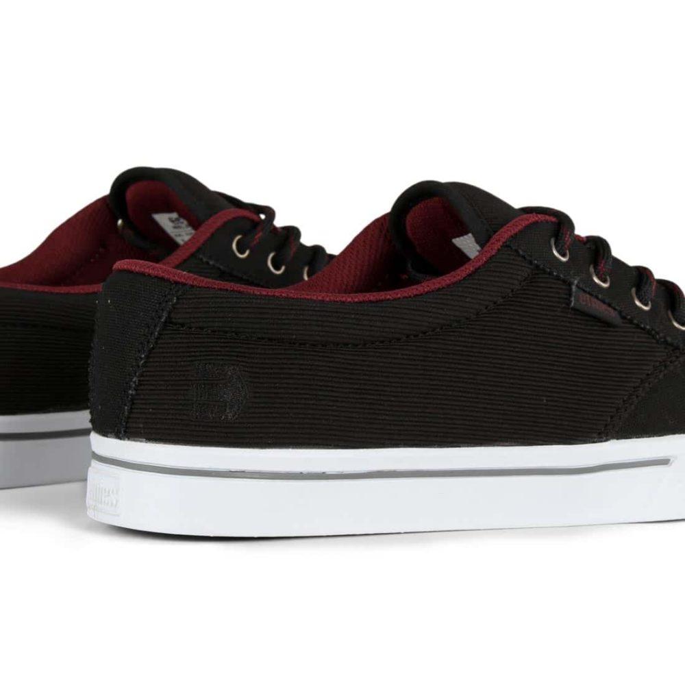 Etnies Jameson 2 Eco Shoes - Black / Black / Red