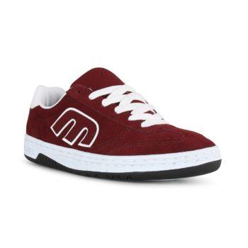 Etnies Lo-Cut Shoes - Burgundy / White