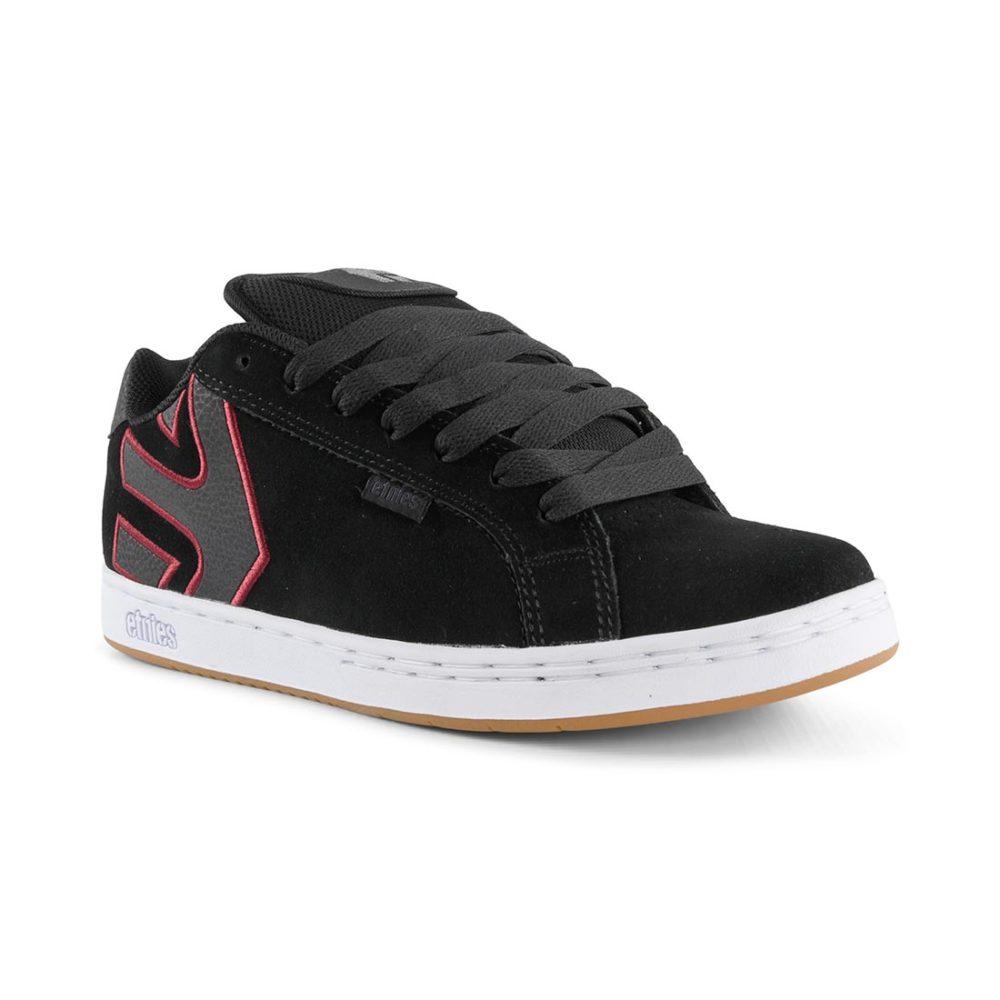 Etnies_Fader_Shoes _Black_White_Burgundy_1