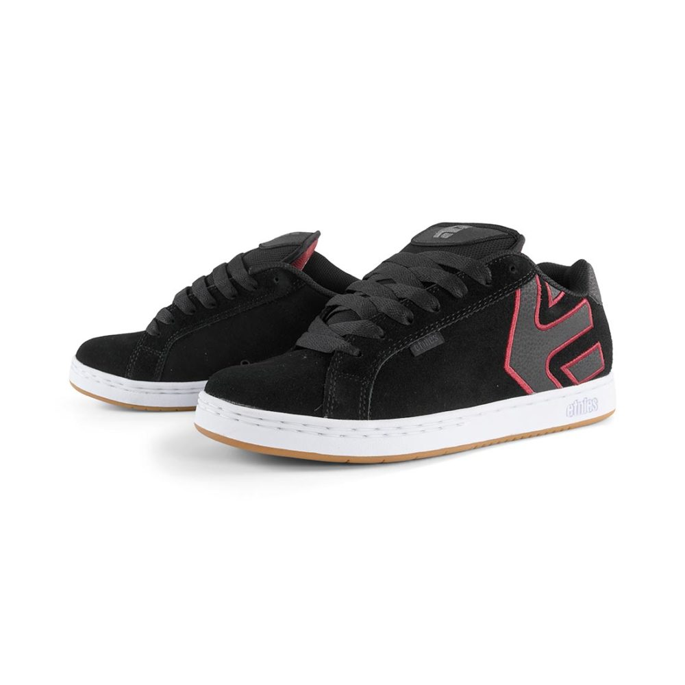 Etnies_Fader_Shoes _Black_White_Burgundy_2