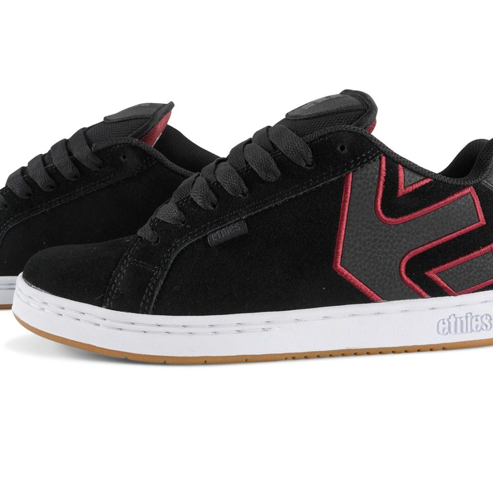 Etnies_Fader_Shoes _Black_White_Burgundy_3