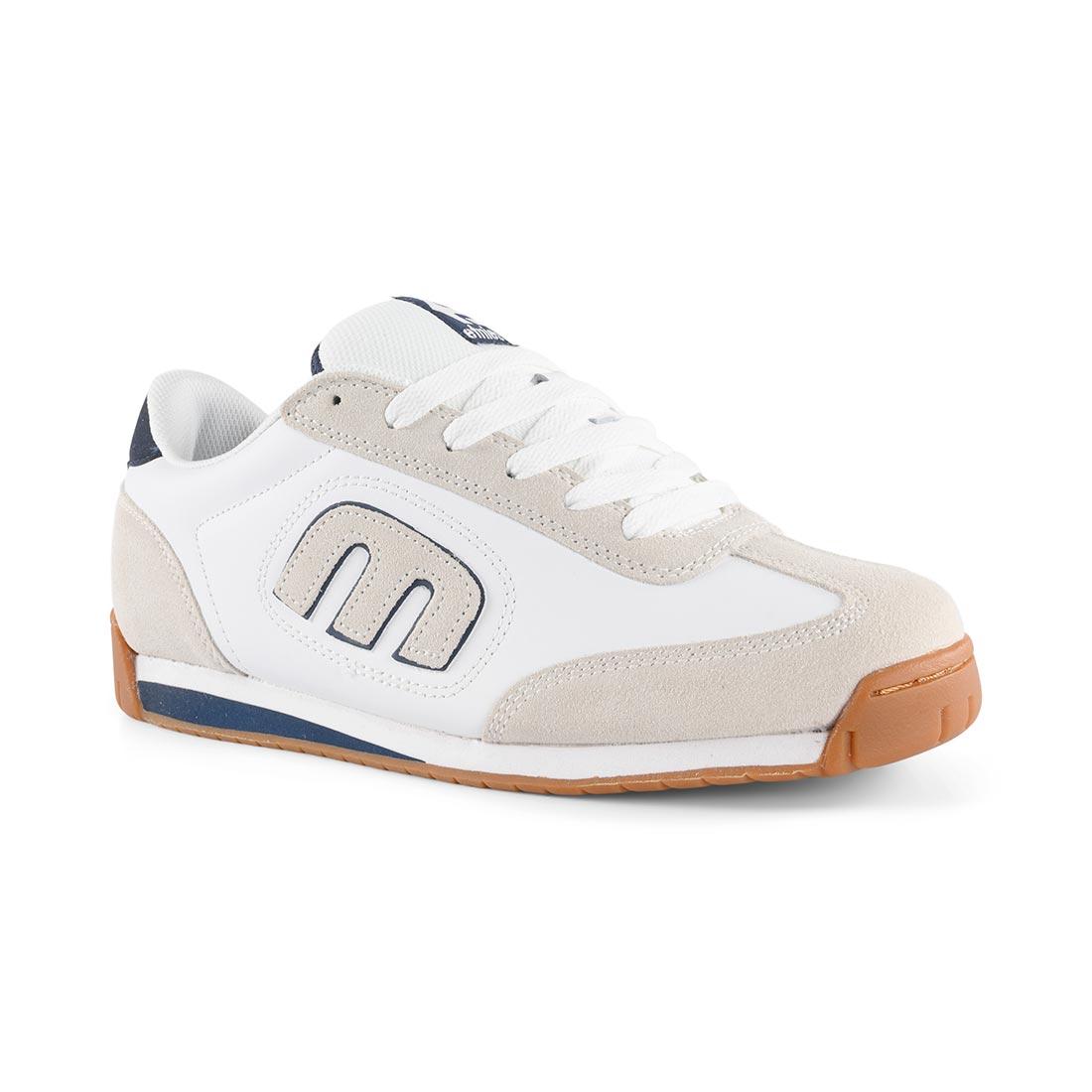 Etnies Lo-Cut II LS Shoes – White / Navy / Gum