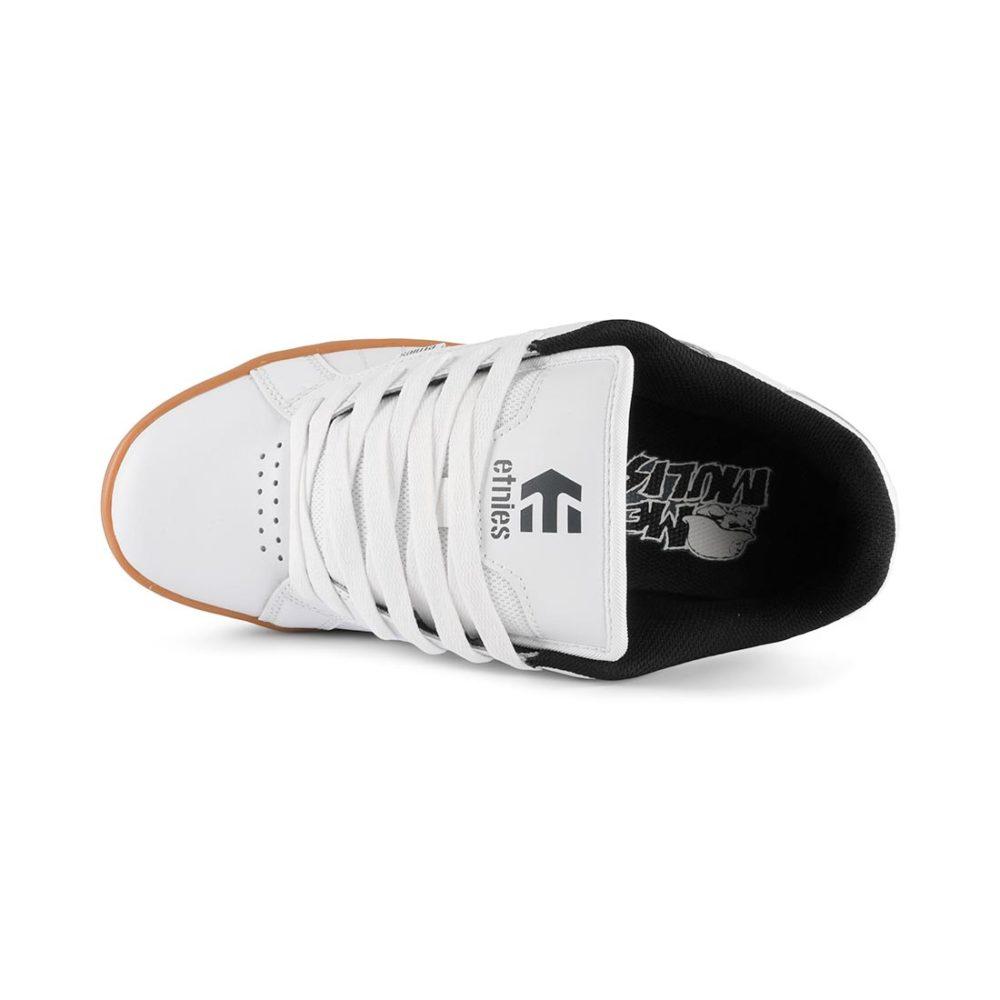 Etnies Metal Mulisha Fader 2 Shoes – White / Black / Gum