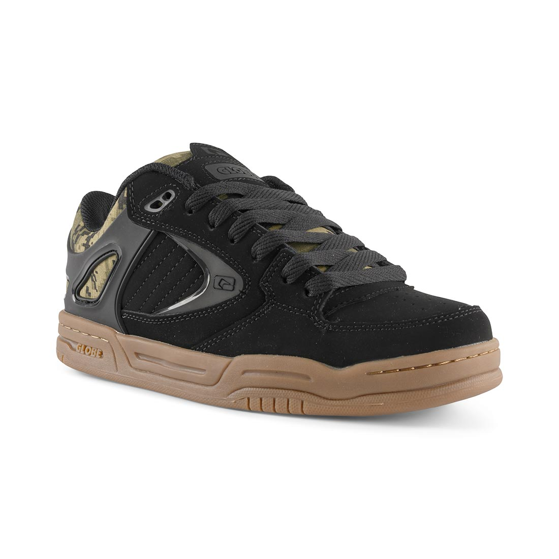 Globe Agent Shoes - Black / Black / Camo