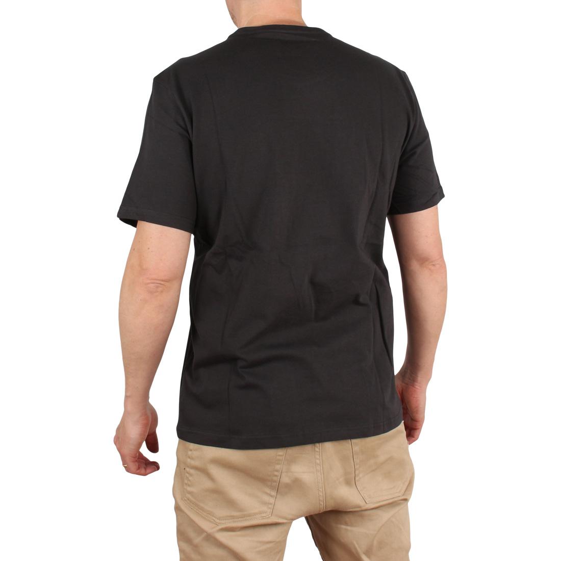 Element Leapus S/S T-Shirt – Off Black