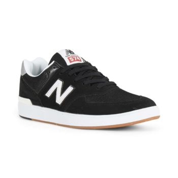 New Balance All Coasts 574 Shoes - Black / Grey