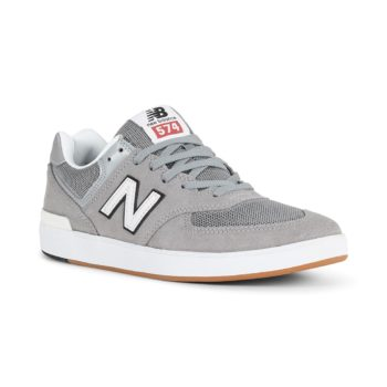 New Balance All Coasts 574 Shoes - Steel / Grey
