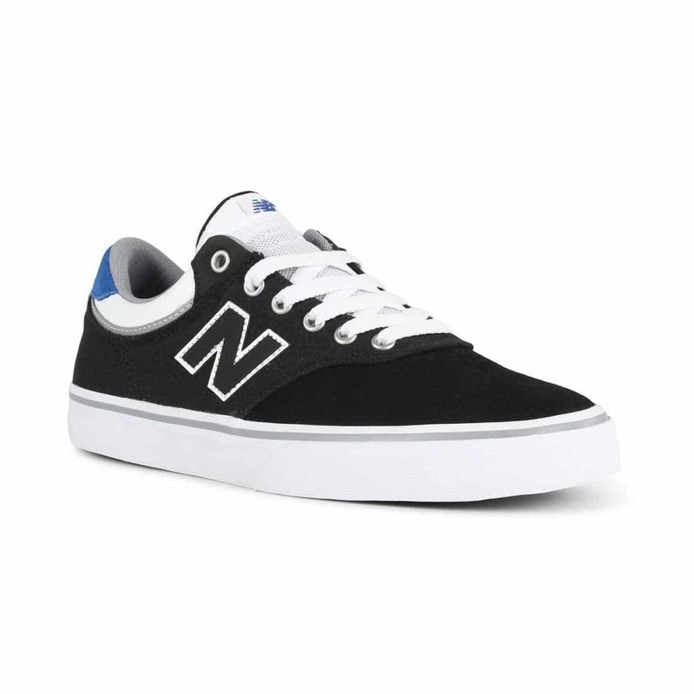 New-Balance-Numeric-255-Shoes-Black-White-1
