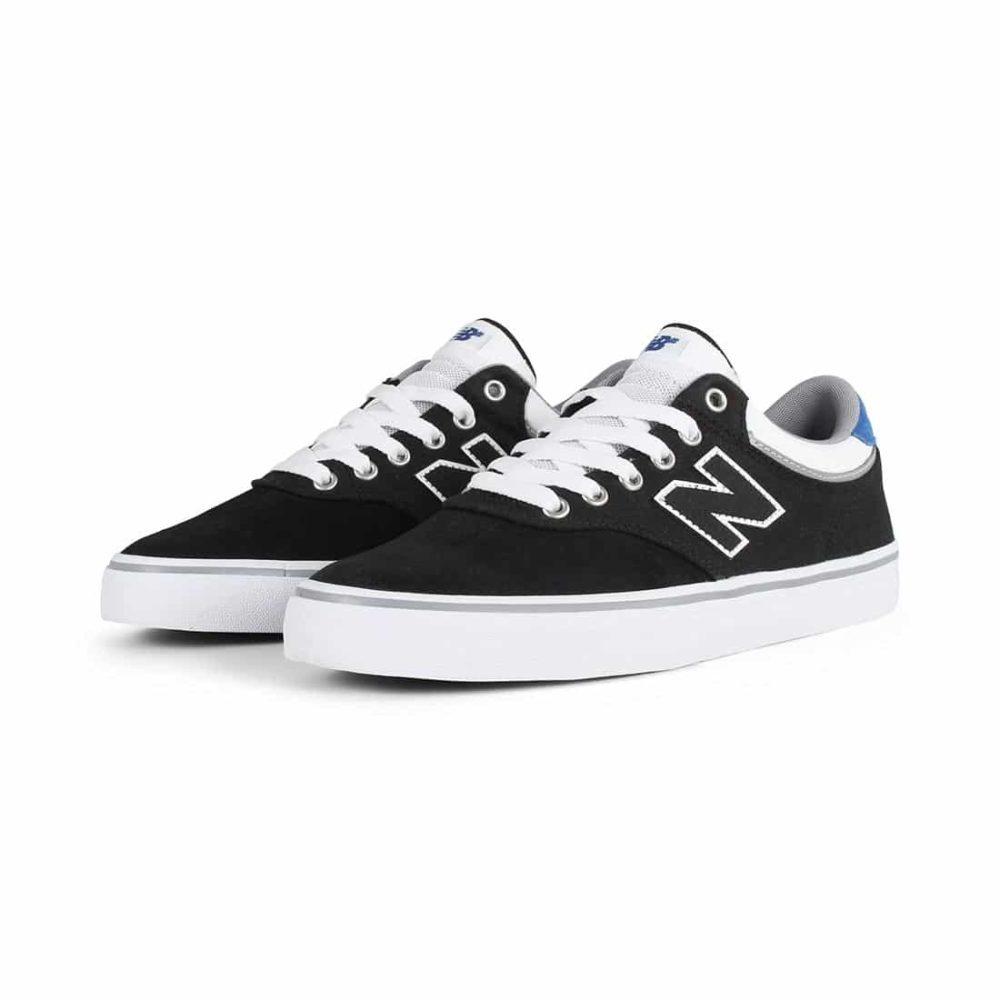New-Balance-Numeric-255-Shoes-Black-White-2