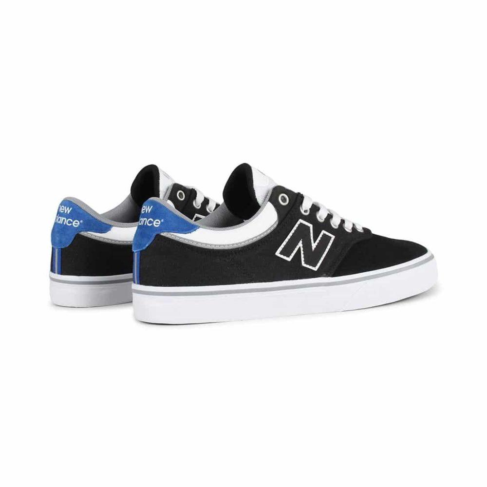 New-Balance-Numeric-255-Shoes-Black-White-4