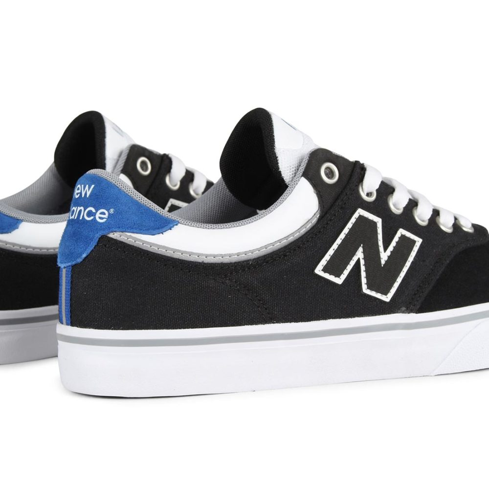 New-Balance-Numeric-255-Shoes-Black-White-5
