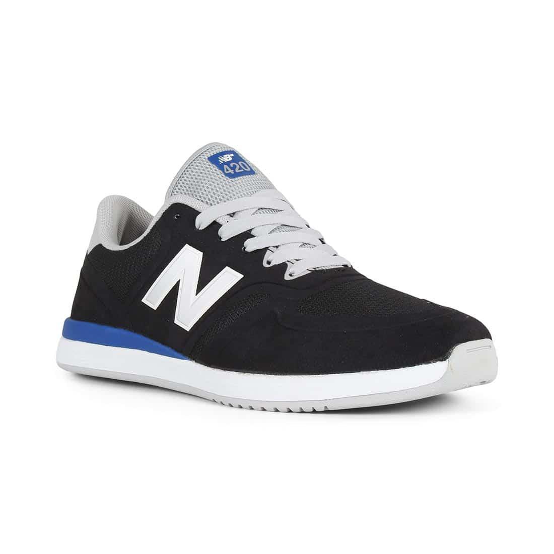 New Balance Numeric 420 Shoes – Black / Royal Blue