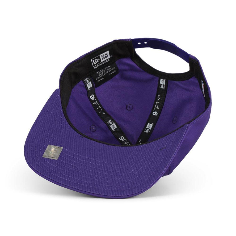 New Era LA Lakers Featherweight 9Fifty Cap - Purple