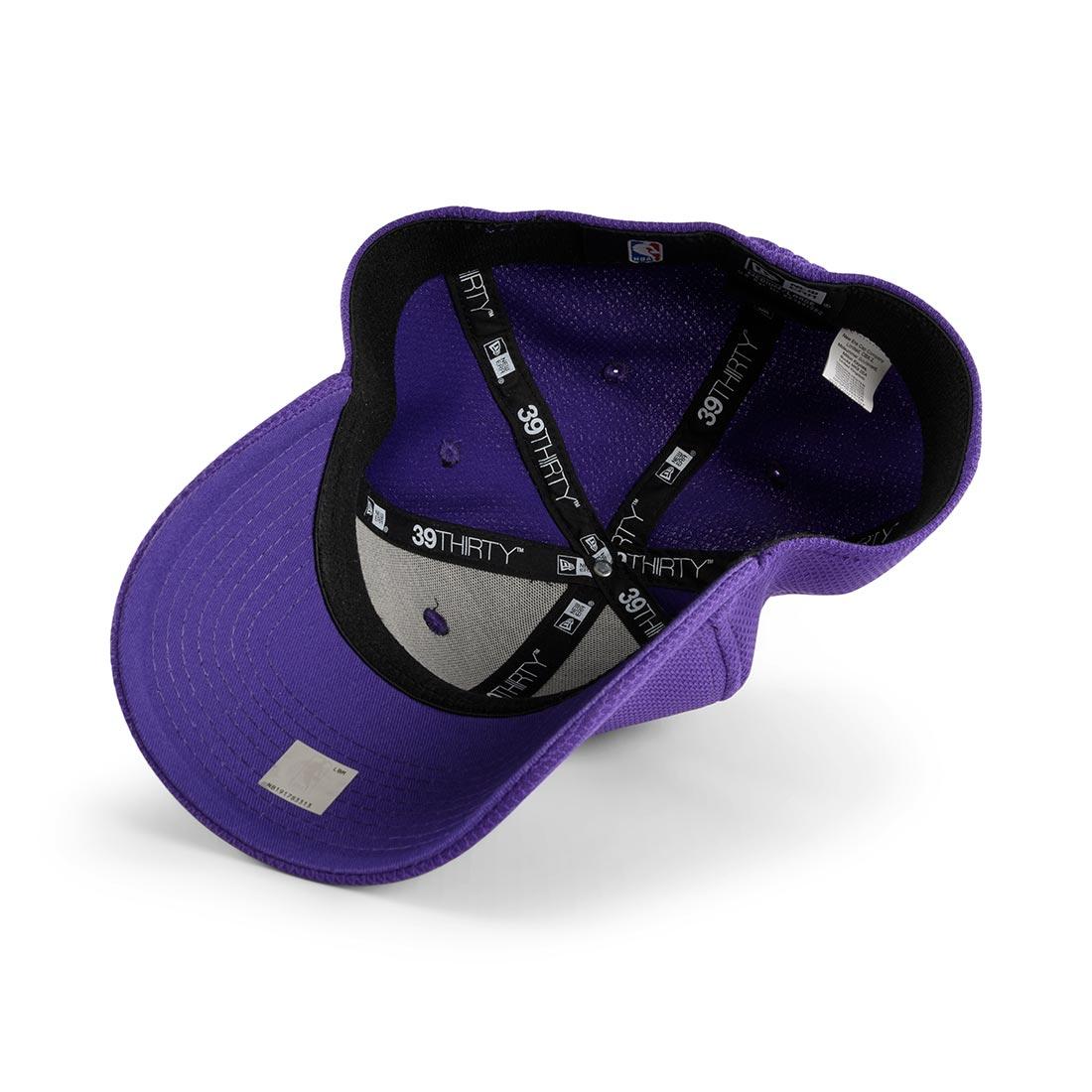 New Era LA Lakers Diamond Era 39Thirty Cap – Purple