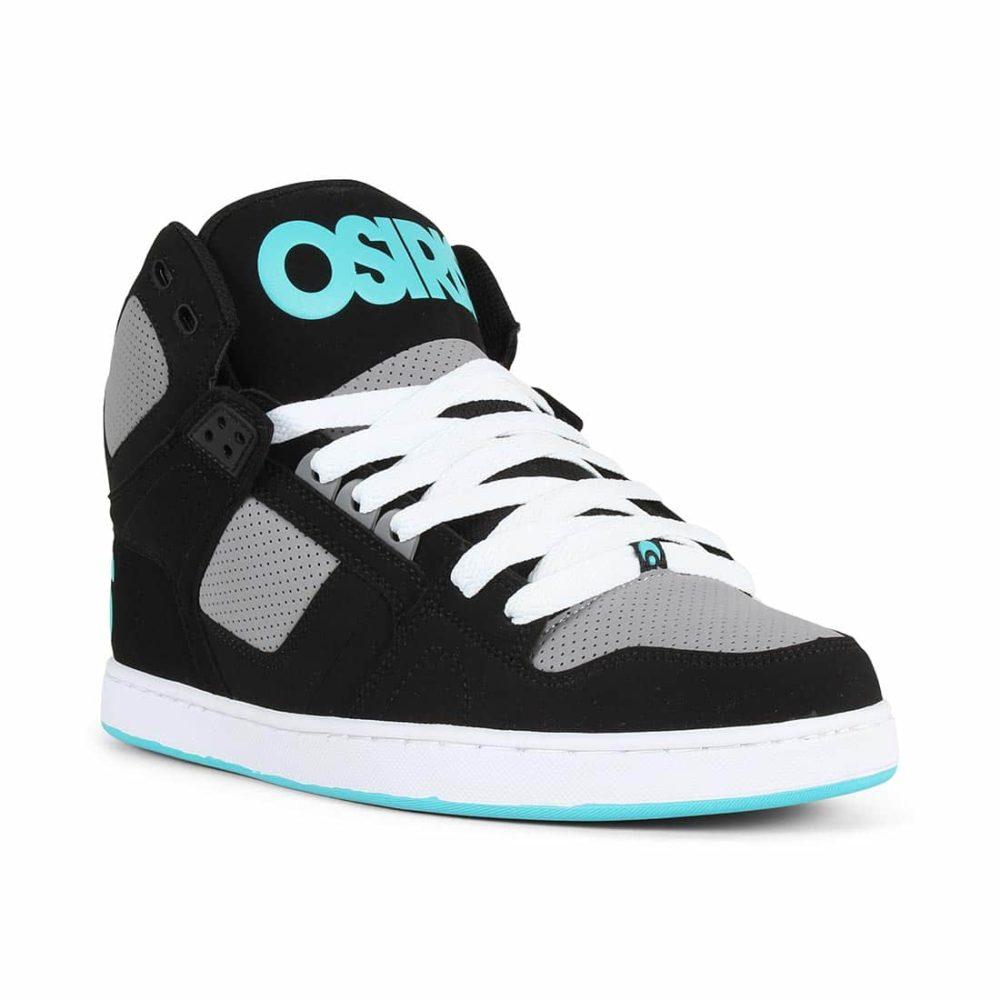 Osiris-NYC-83-CLK-High-Top-Shoes-Black-Grey-Cyan-1
