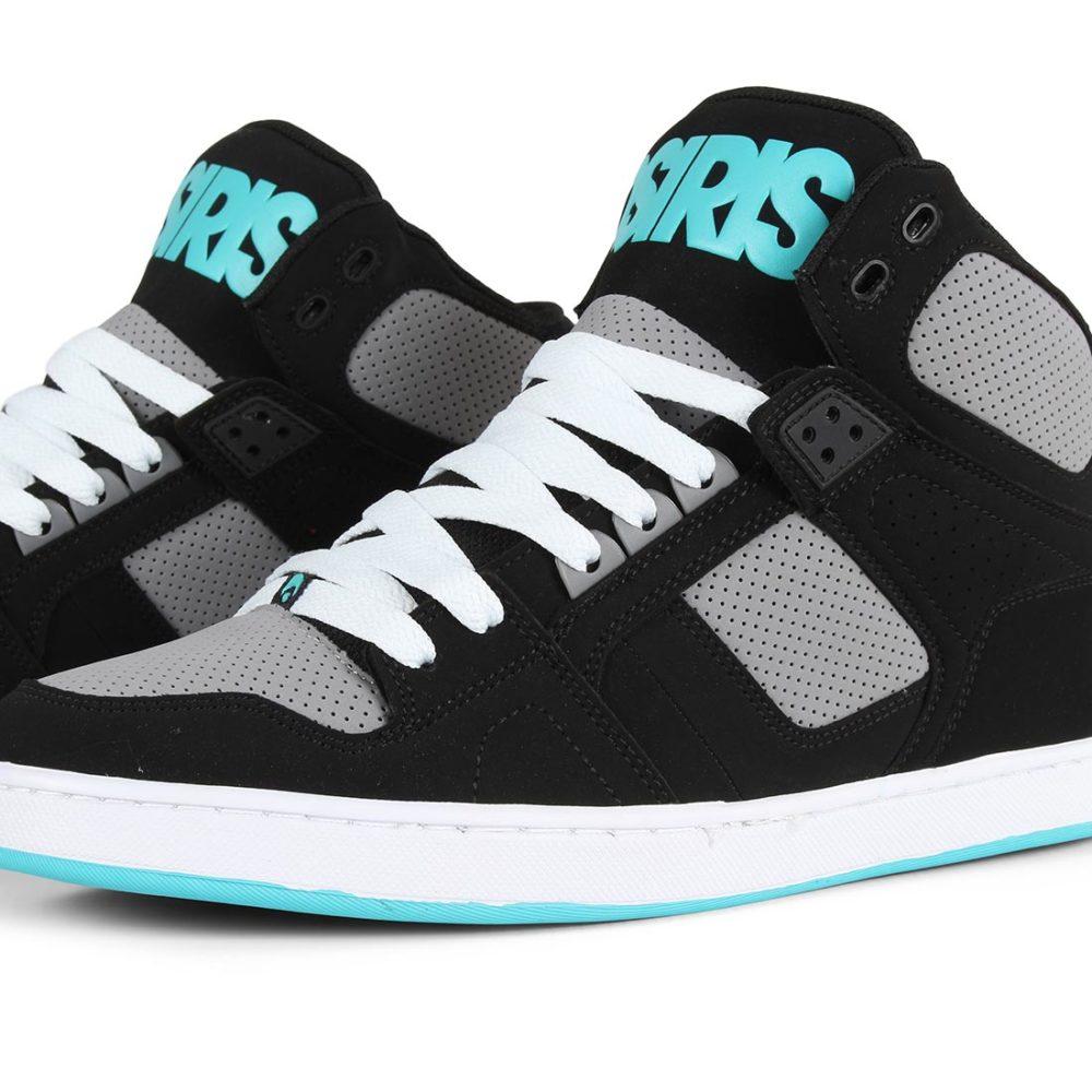 Osiris-NYC-83-CLK-High-Top-Shoes-Black-Grey-Cyan-3