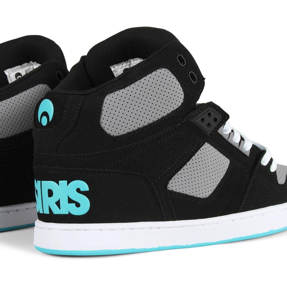 Osiris-NYC-83-CLK-High-Top-Shoes-Black-Grey-Cyan-5