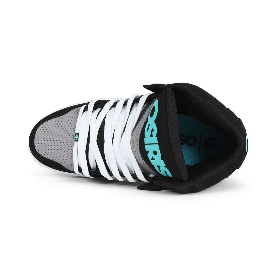 Osiris NYC 83 CLK High Top Shoes - Black / Grey / Cyan