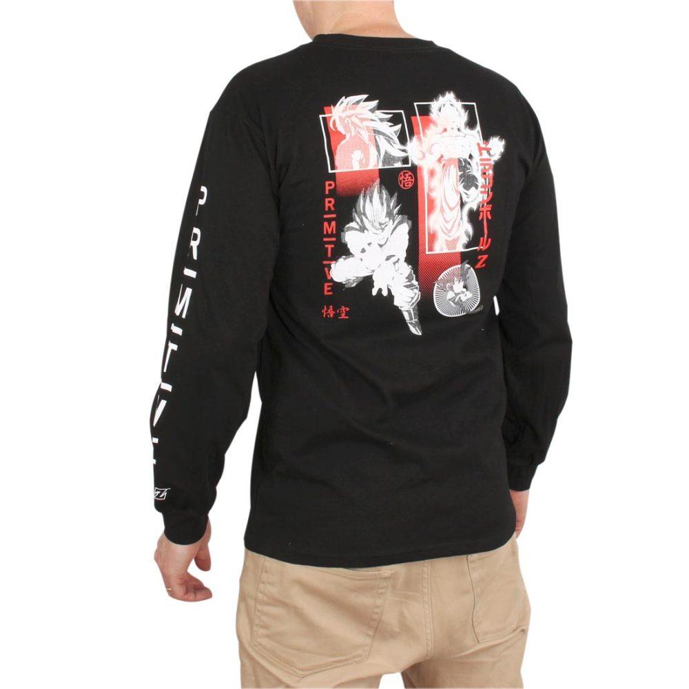 Primitive DBZ Collage L/S T-Shirt – Black