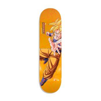 Primitive DBZ Rodriguez SS Goku 8″ Skateboard Deck – Gold