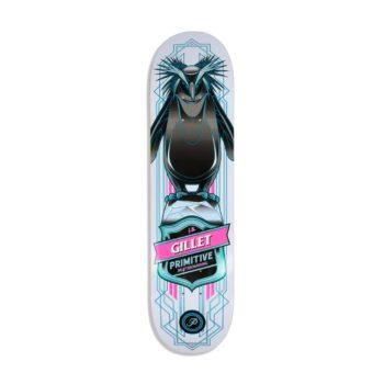 "Primitive JB Gillet Pro Penguin 8"" Skateboard Deck - Multi"