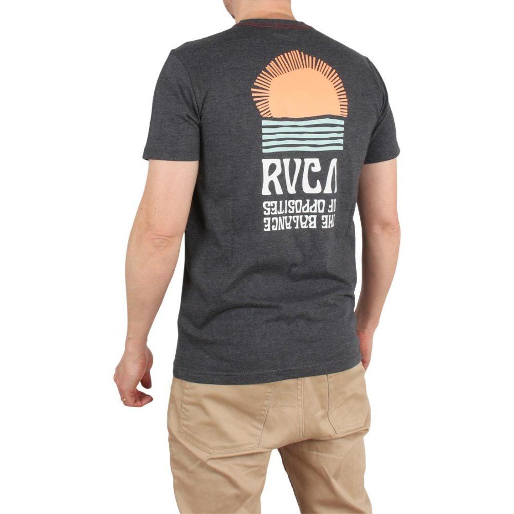 RVCA Daybreak S/S T-Shirt – Charcoal