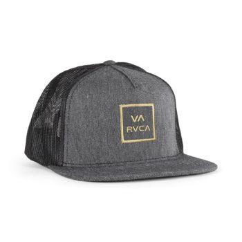 RVCA VA All The Way Trucker Cap - Dark Charcoal