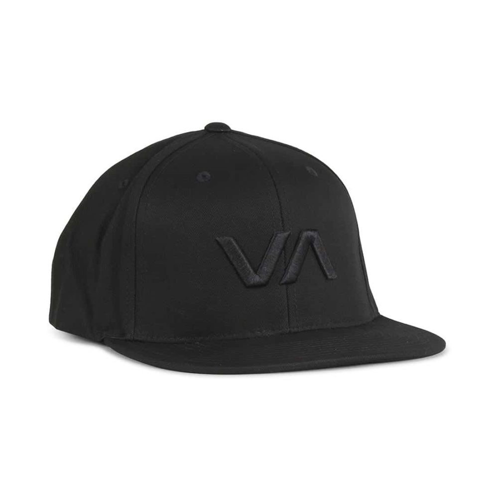 RVCA-VA-Snapback-II-Cap-Black-Black-1
