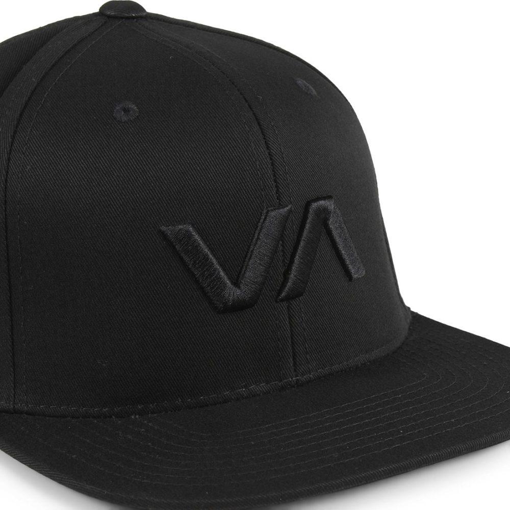 RVCA-VA-Snapback-II-Cap-Black-Black-2