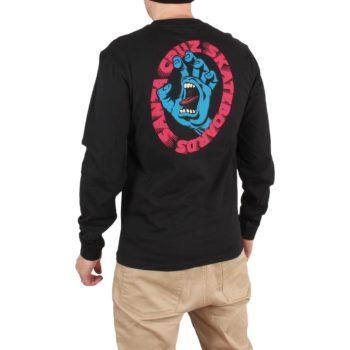 Santa Cruz Scream L/S T-Shirt - Black