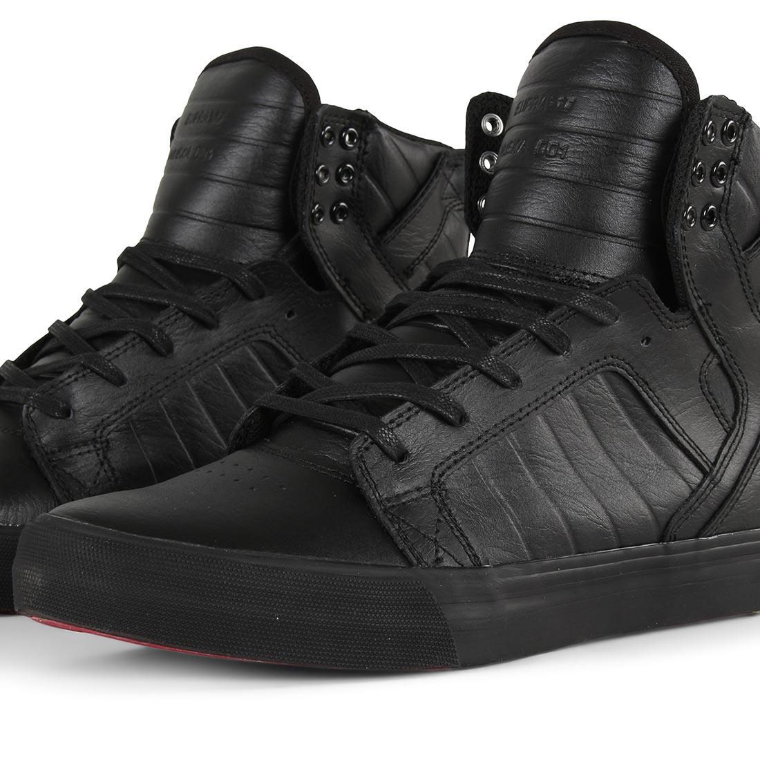 Supra Skytop Shoes - Black / Black