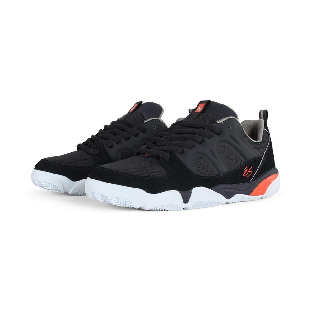eS Silo Shoes - Navy / Grey / Orange