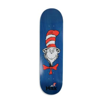Almost Cat Face R7 8.25″ Skateboard Deck – Max Geronzi